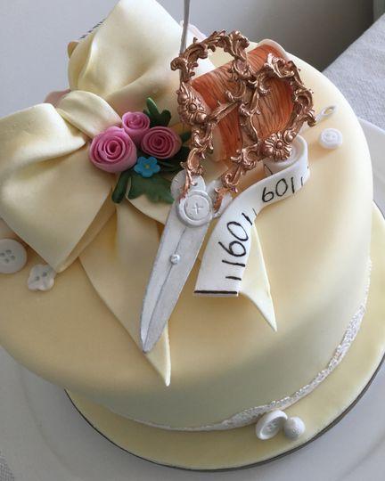 Stitch in time Birthday Cake