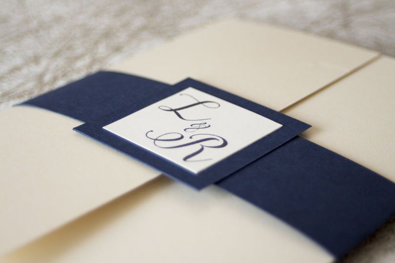 Wedding invitation - elegant
