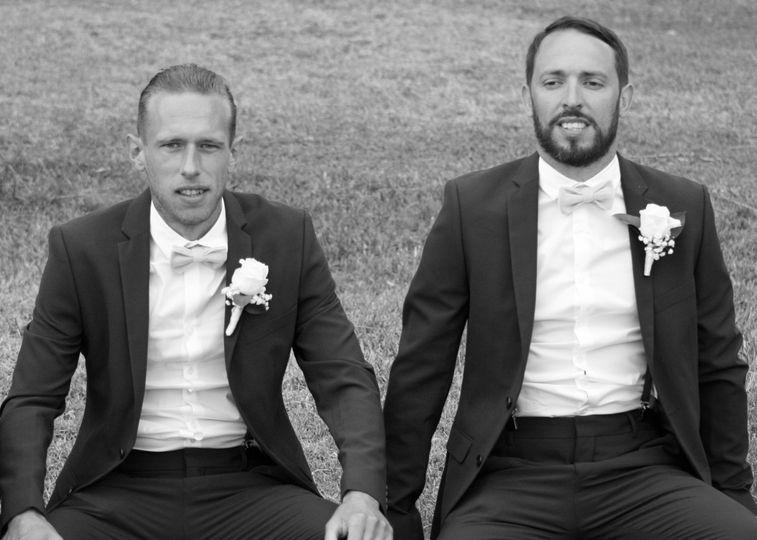 Men seated - Joanne Redington Photography