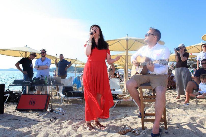 Greek Beach Wedding