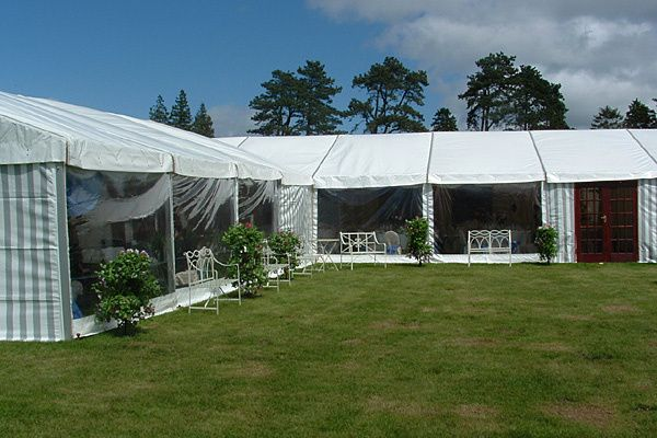 L Shaped Marquee Hire