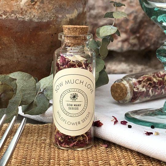 Wildflower Seed & Petal Bottle