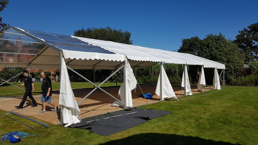Marquee Hire Raise the Roof Marquees & Events 8