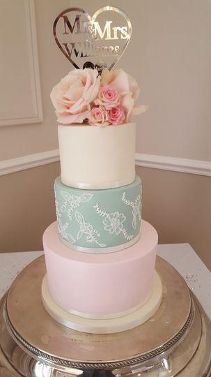 Sugarpaste cake