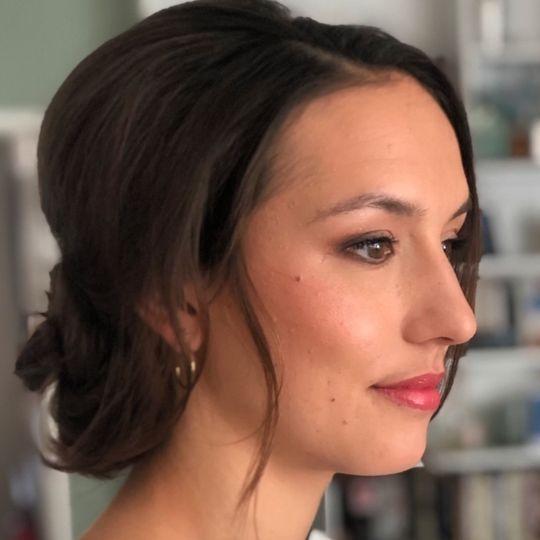 Beauty, Hair & Make Up Making up the Bride 41
