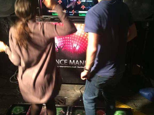 Dance machine fun