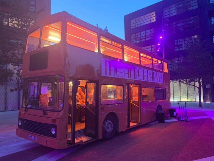 The Amber Bar Bus Unity Arts