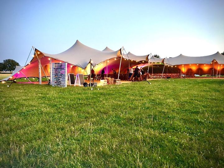Marquee and tipi hire