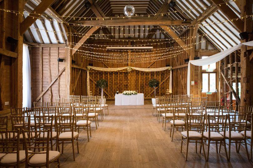 Tythe Barn ceremony space