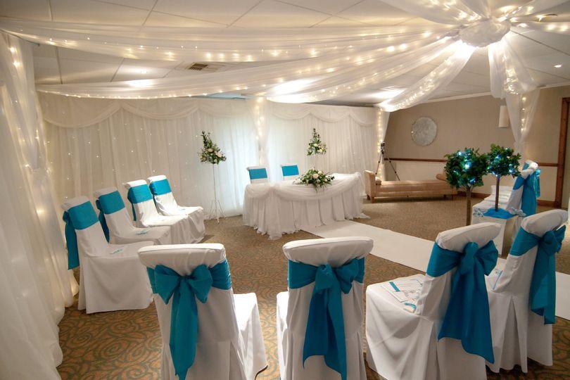 Wedding at Garstang Golf club