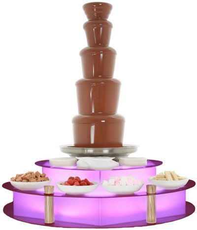 5 Tier Chocolate Fountain Hire