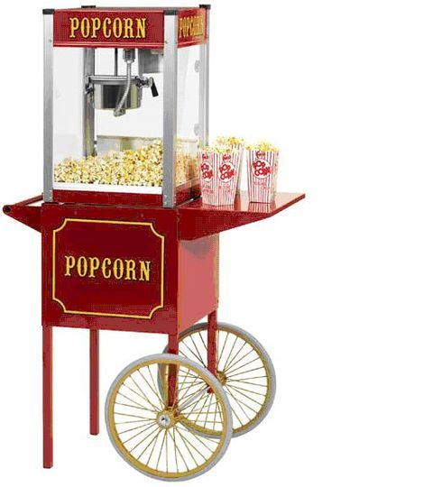 Commercial Popcorn Maker Hire