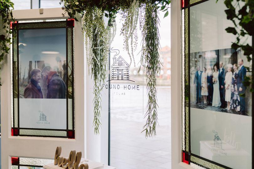 Wedding stall