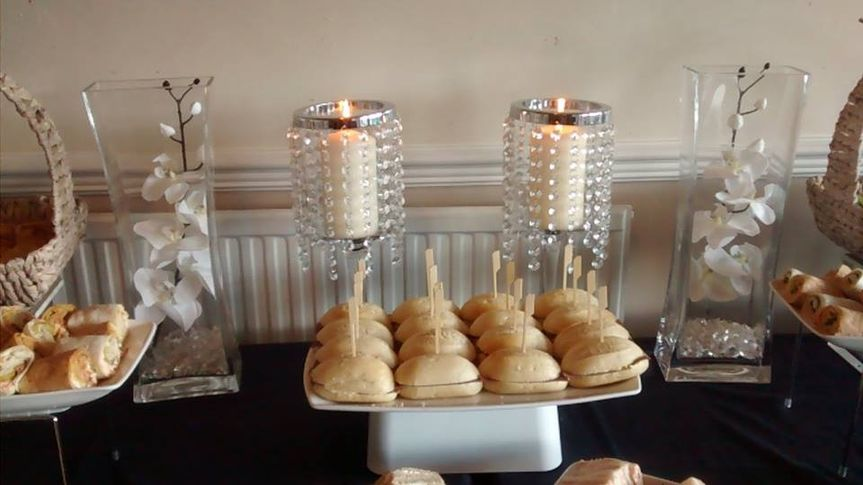 Snacks of weddings