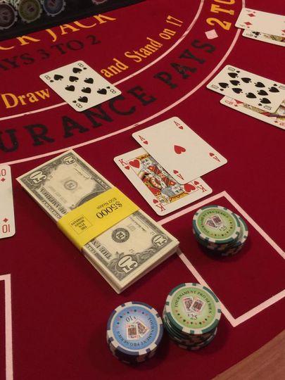 High stakes blackjack