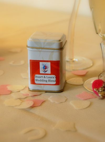 Example of wedding favour