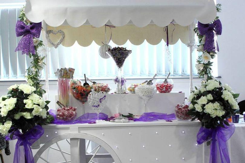 Decorative Hire Flossy Pots Events 26