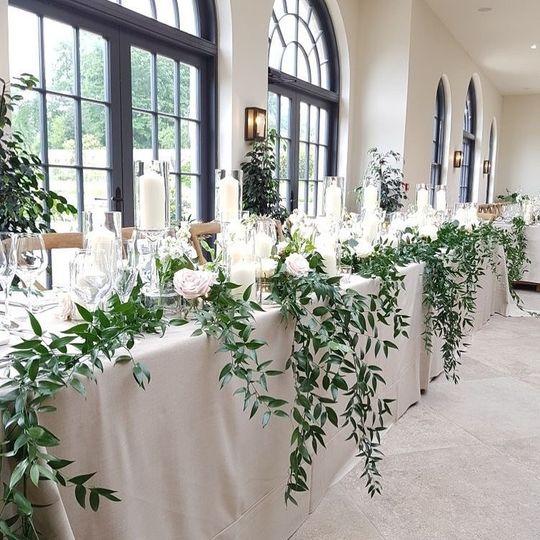 Decorative Hire Flossy Pots Events 29