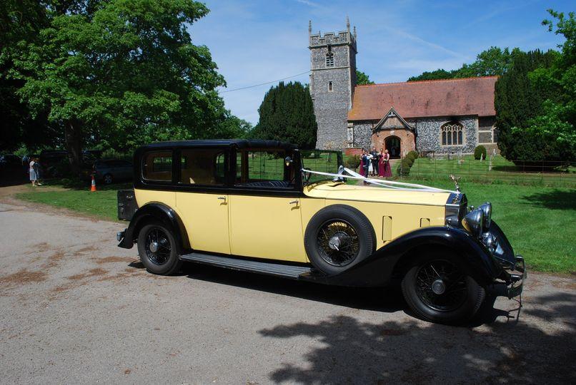 The finest wedding car