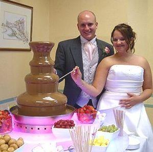 Unique wedding cake alternative