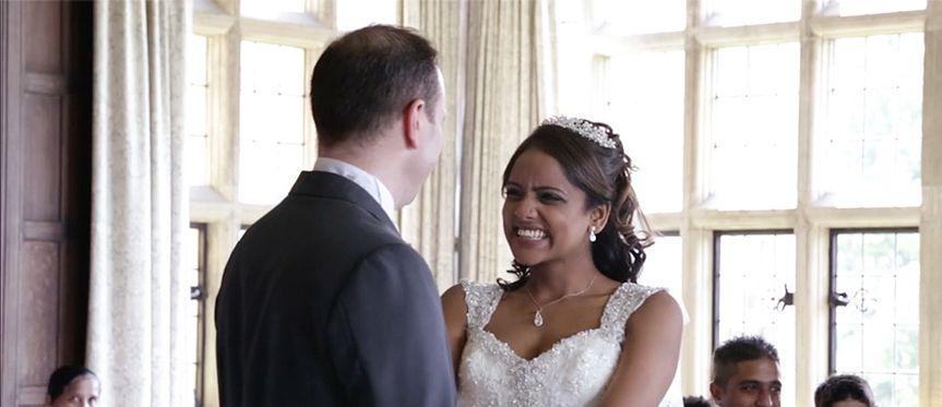 Steve and Anita's cinematic wedding