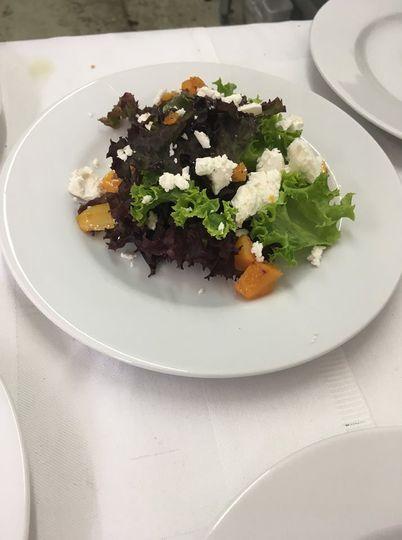 Vegetarian Sit Down Meal
