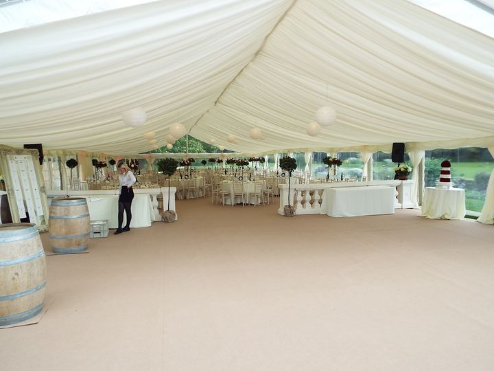 Marquee Hire DJ Marquees Ltd 30