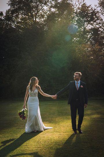 The happy couple - Zara Davis Photography