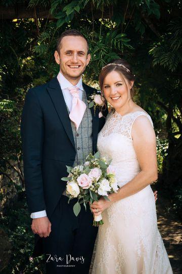 Portrait of the newlyweds - Zara Davis Photography