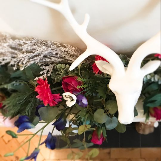 Vibrant Vibes Faux Garland