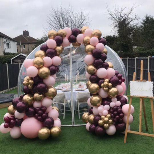 Giant baubles