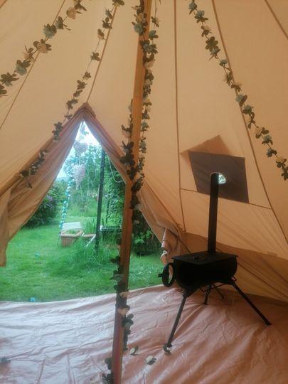 Pretty bell tent
