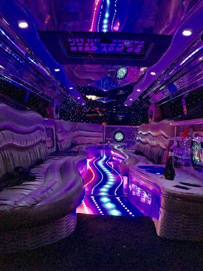 Hummer dance floor