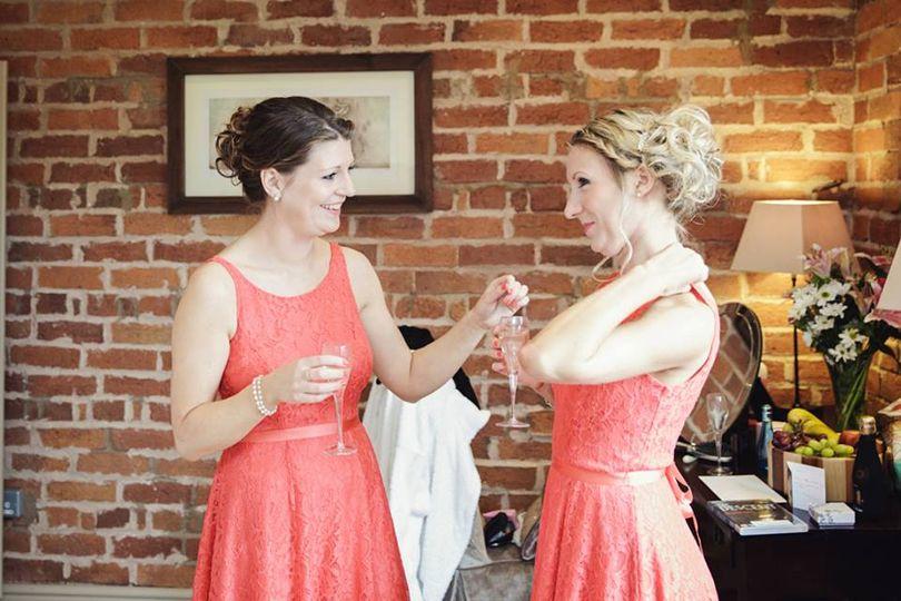Katie's bridesmaids