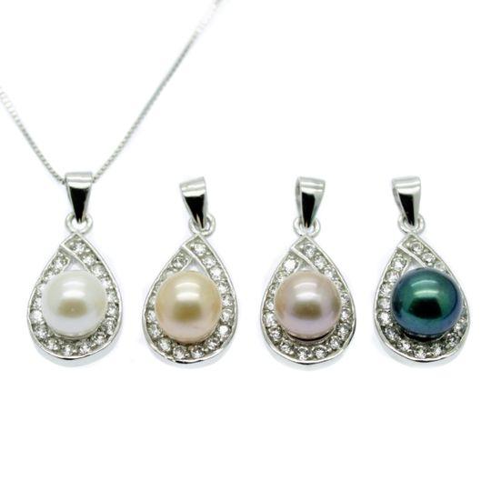 Wide range of pearl pendants