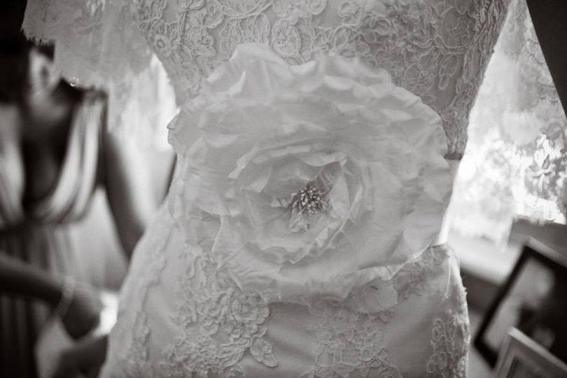 'Rosa' bridal belt