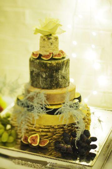Cheese weddding cakes