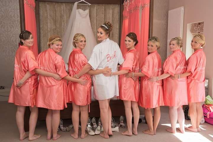 Jessica and bridesmaids