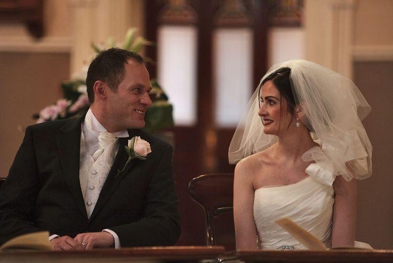 The bride and groom - Paul Tree Weddings