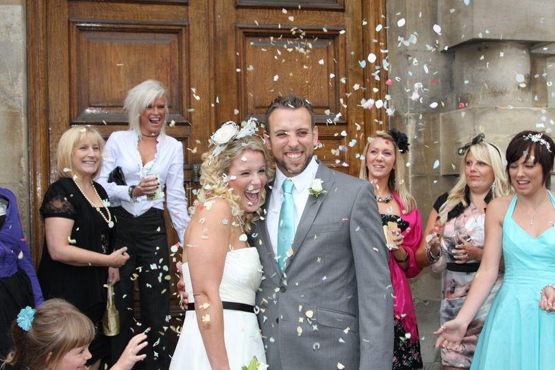 Newlyweds - Paul Tree Weddings