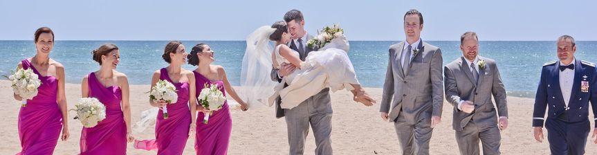 Beach wedding - Paul Tree Weddings