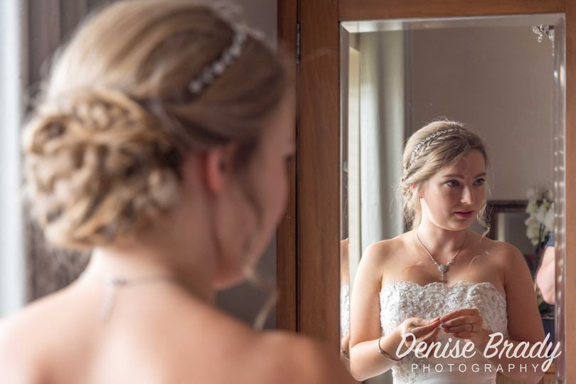 Reflections of a bride