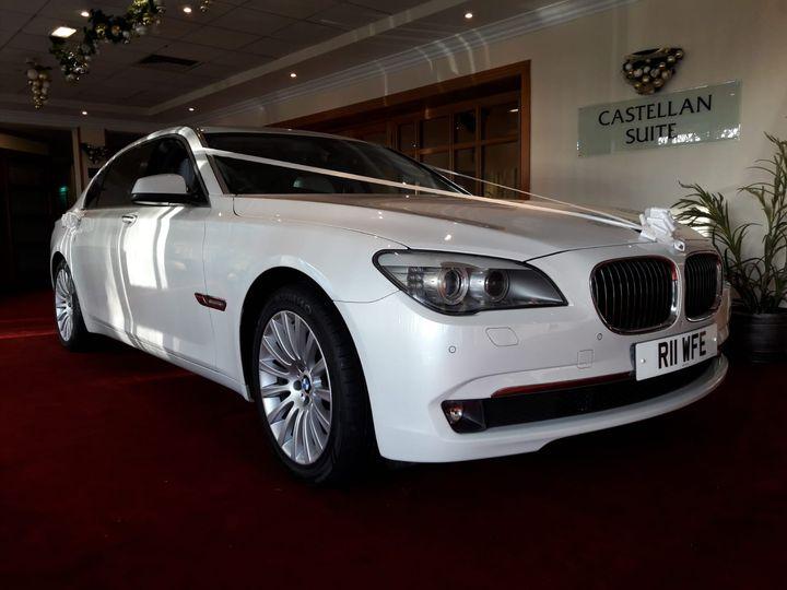 The beautiful 7 series BMW