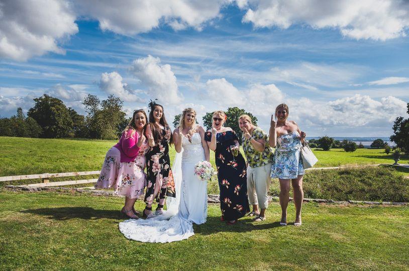 Bride & Friends
