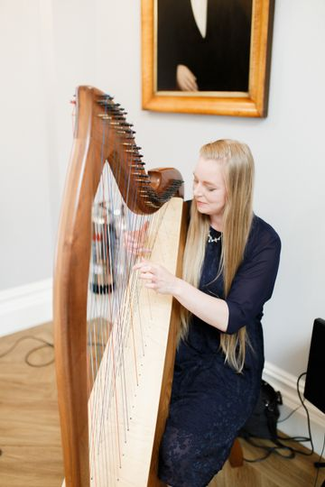Music and DJs Christine Palethorpe (Nottingham Harpist) 53