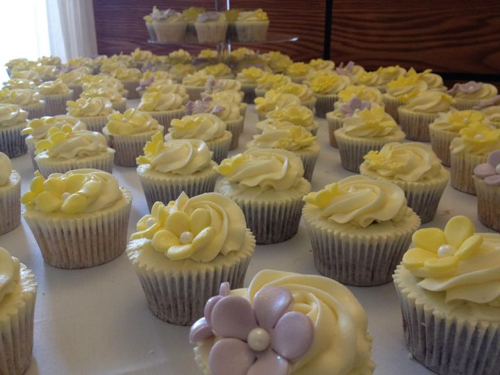 Cupcake table display