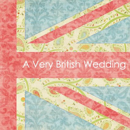 Union Jack Wedding Invitation