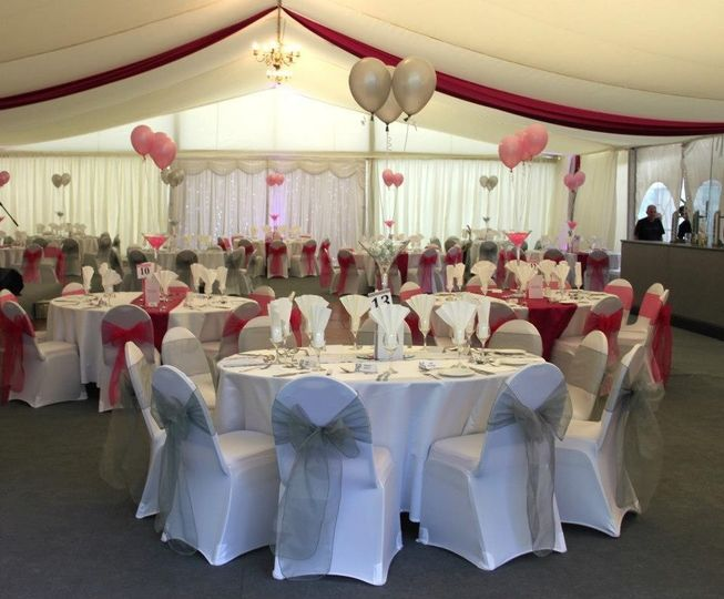 Marquee in Private Grounds