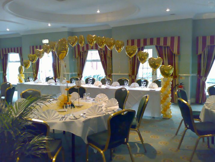 Foil Wedding Balloons South Yorkshire