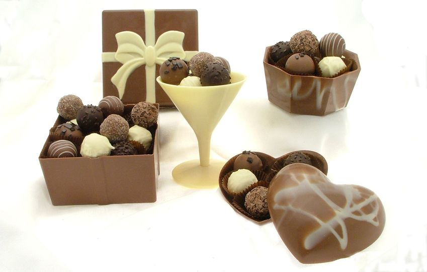 Edible Chocolate Boxes